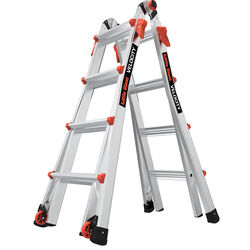 Little Giant Velocity 17 ft. H Aluminum Extension Ladder Type IA 300 lb.