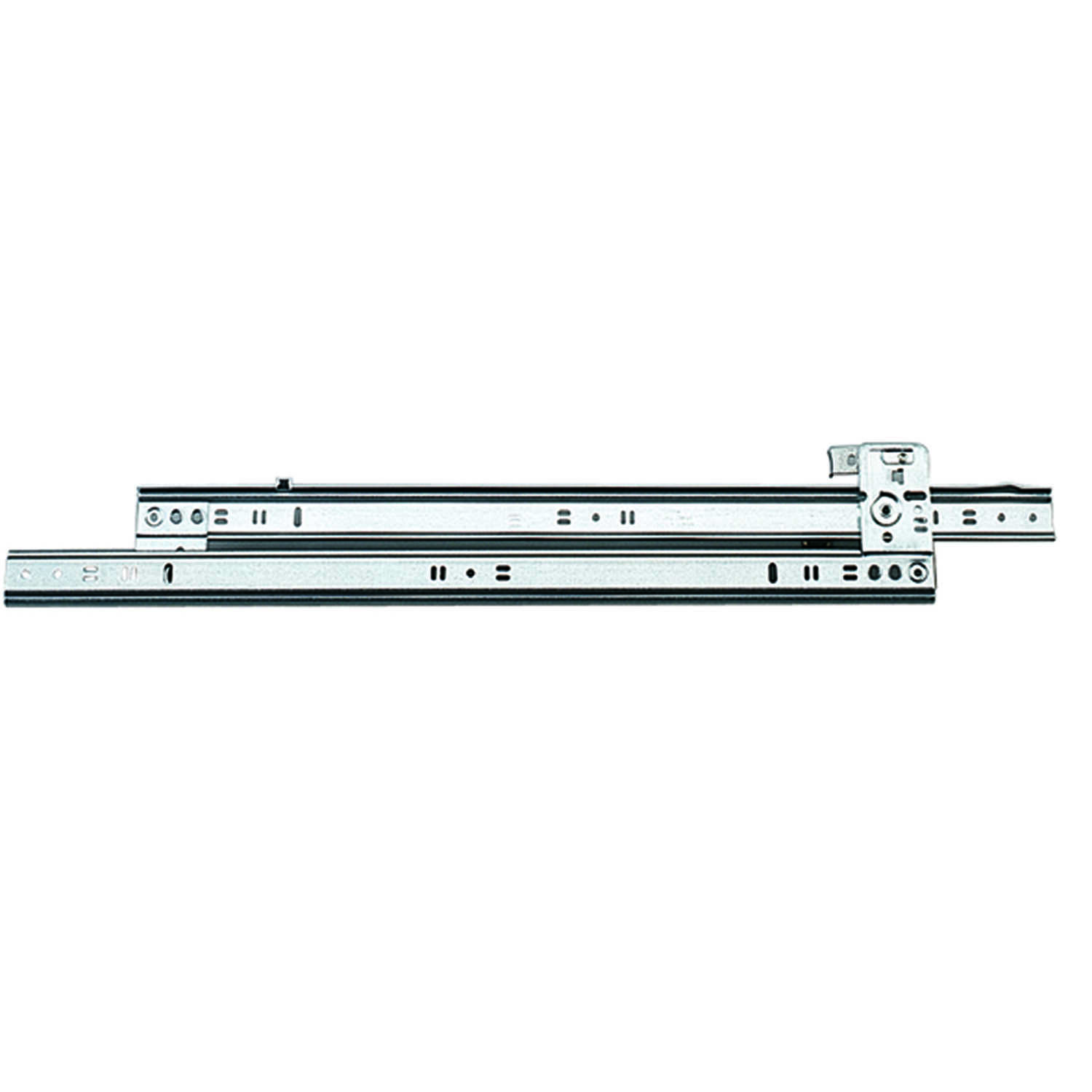 Knape & Vogt  18 in. L Steel  Full Extension  Drawer Slide  1 pair
