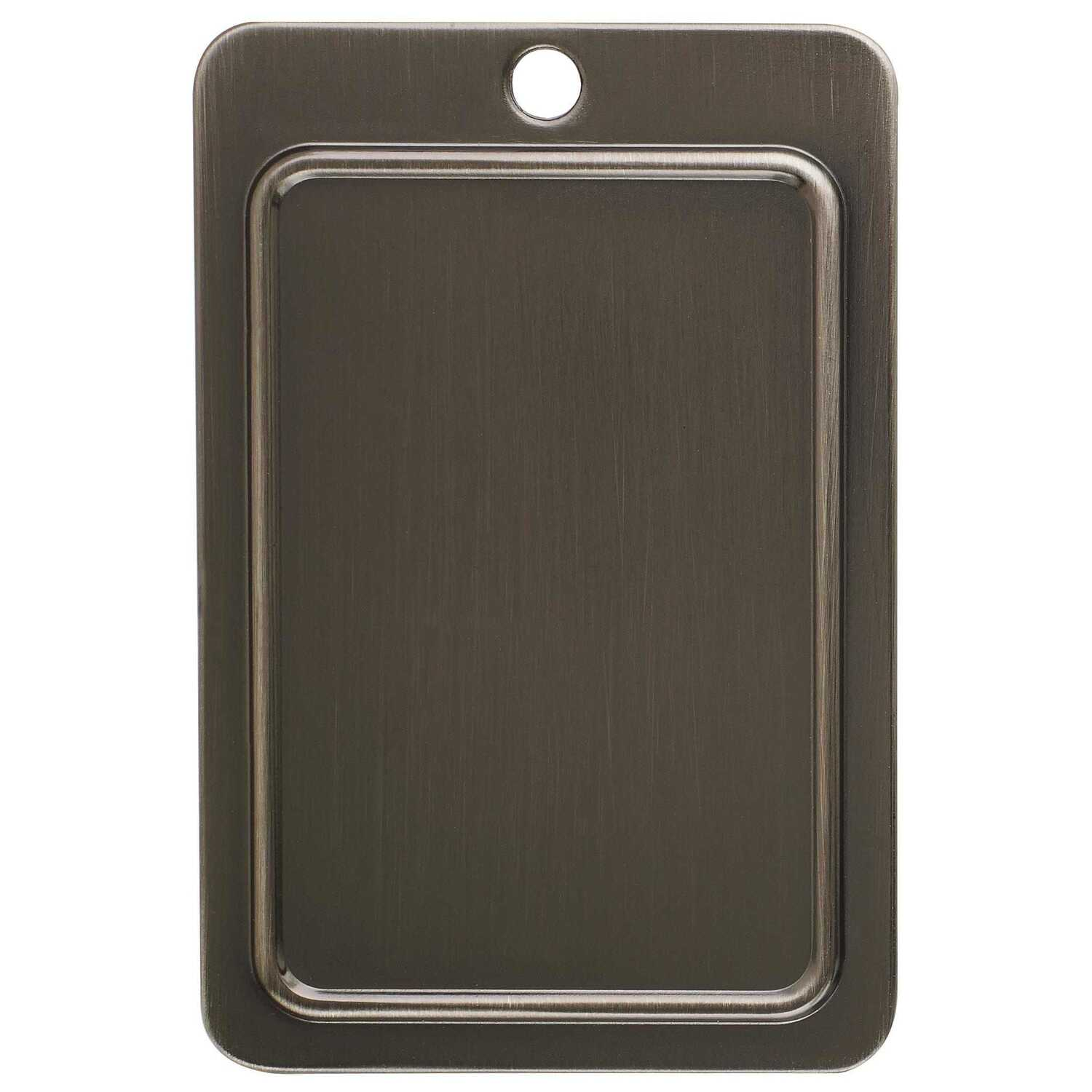 Amerock  Candler Collection  Cabinet Pull  Gunmetal  1 pk
