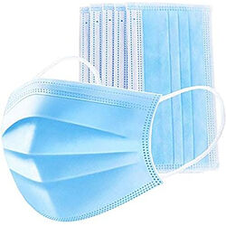 Meridian Point  Face Mask  Blue  50 pk