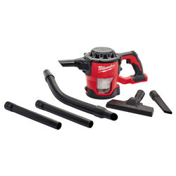 Milwaukee  M18  Bagless  Cordless  Compact Vacuum  18 volt HEPA  Red