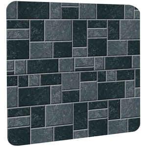 Imperial Manufacturing  32 in. L x 42 in. W Stove Board  Slate