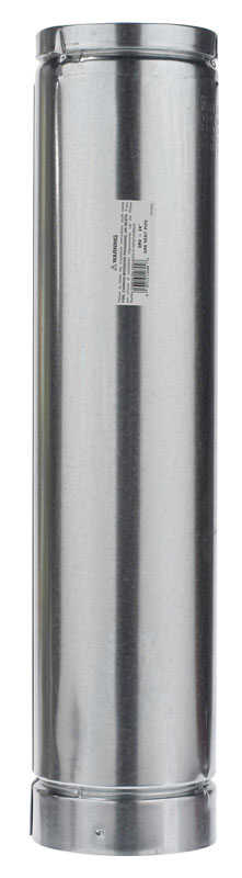 Selkirk  5 in. Dia. x 24 in. L Aluminum  Round Gas Vent Pipe