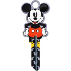 Hillman  Disney  Mickey Mouse  House/Padlock  Universal Key Blank  Double sided