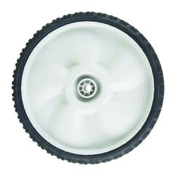 Arnold 1.75 in. W x 11 in. Dia. Plastic Lawn Mower Replacement Wheel 60 lb.