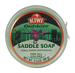 Kiwi  No Scent Saddle Soap  3.1 oz. Paste