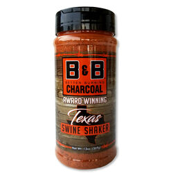 B&B Charcoal Texas Swine Shaker Seasoning Rub 13 oz.