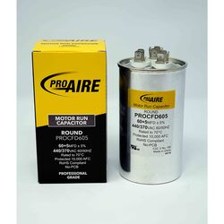 Perfect Aire ProAire 60+5 MFD 370 volt Round Run Capacitor