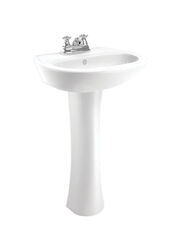 Cato  Terra  Rectangular  Lavatory Sink  White