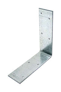 Simpson Strong-Tie  4.5625 in. H x 4.6 in. W x 1.5 in. L Galvanized Steel  Angle