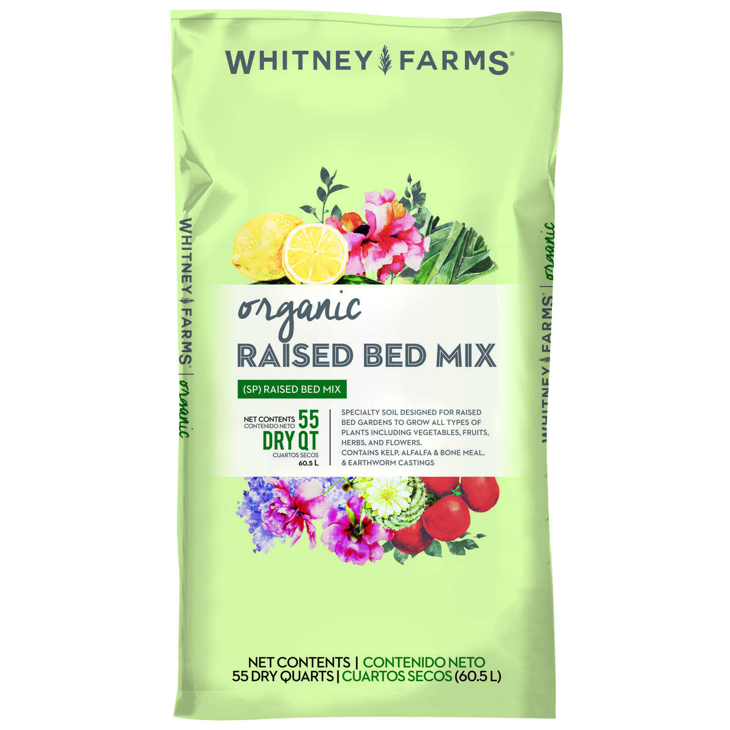 Whitney Farms Organic Garden Soil 1 5 Cu Ft Ace Hardware
