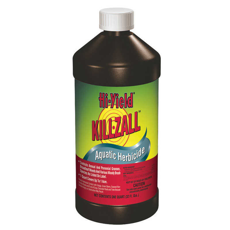 Hi-Yield  Killzall  Concentrate  Aquatic Herbicide  32 oz.