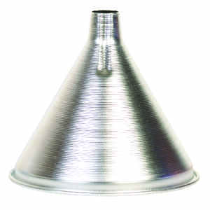 Harold Import  Silver  4 in. H Aluminum  12 oz. Funnel