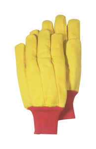 Handmaster  Men's  Indoor/Outdoor  Fleece  Utility  Gloves  Gold  L