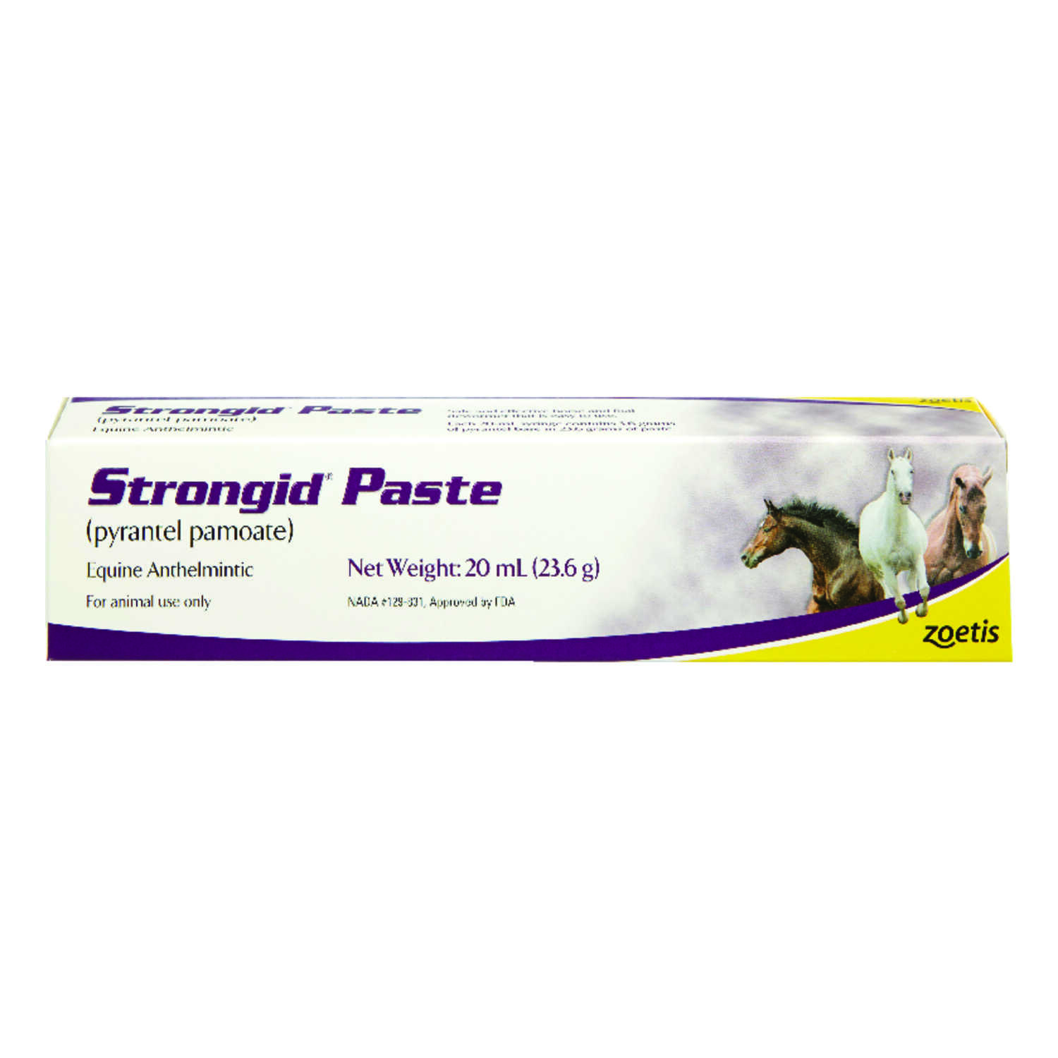 Strongid  2X  De-Wormer  For Horse 23.6 gm