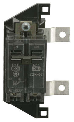 GE  PowerMark Gold  125 amps Standard  2-Pole  Circuit Breaker