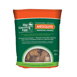 Big Green Egg  All Natural Mesquite  Wood Smoking Chunks  549 cu. in.