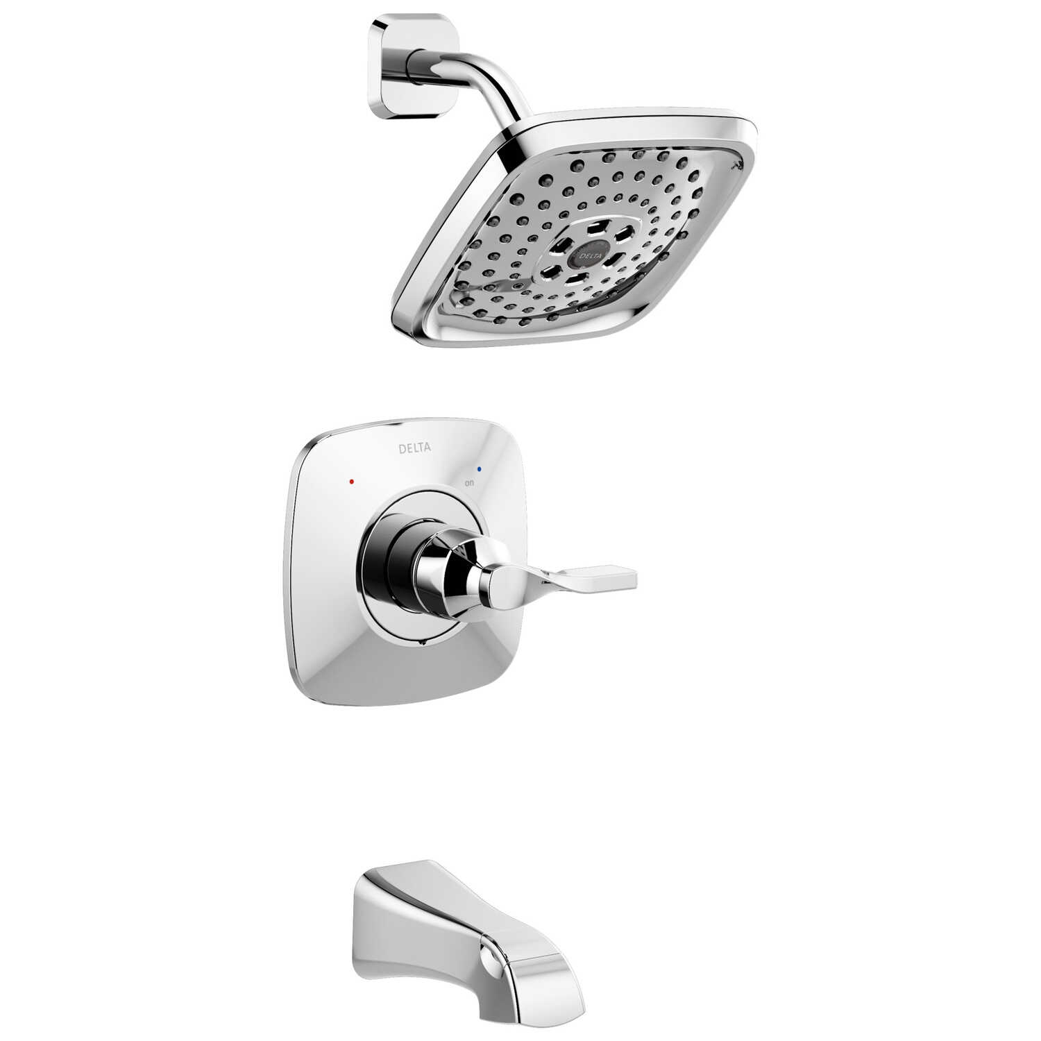 Delta  Monitor  Sawyer  1-Handle  Chrome  Tub and Shower Faucet