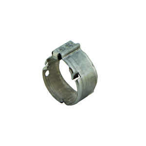 Zurn  Qickclamp  3/4 in. CTS   x 3/4 in. Dia. CTS  Crimp Ring  Stainless Steel