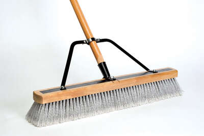 DQB  Synthetic  24 in. Contractor Push Broom