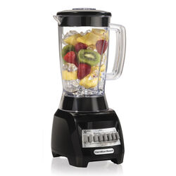 Hamilton Beach Wave Maker Black Plastic Blender 48 oz. 10 speed