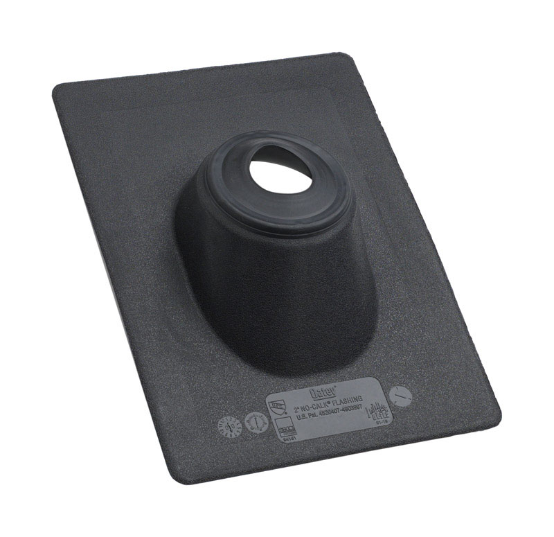 Oatey  All-Flash  8 in. H x 11-1/4 in. W x 15 in. L Black  Rectangle  Roof Flashing  Thermoplastic