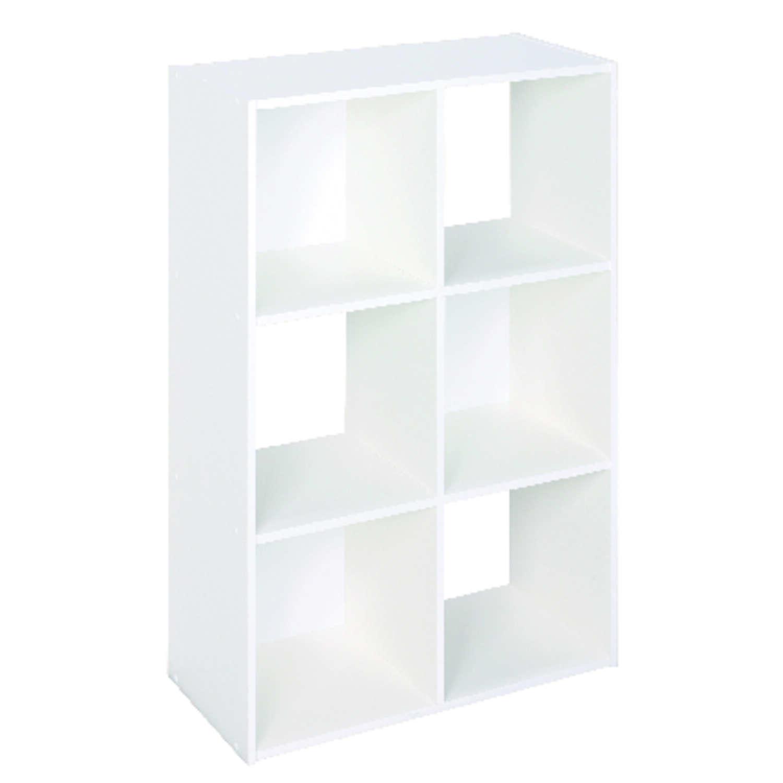 Closetmaid Cubeicals 35 7 8 In H X 24 1 8 In W X 11 5 8 In L Wood Laminate Cube Organizer 1 P Ace Hardware