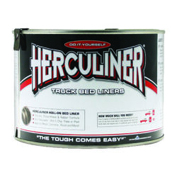 Herculiner  Black  Truck Bed Coating  1 qt.