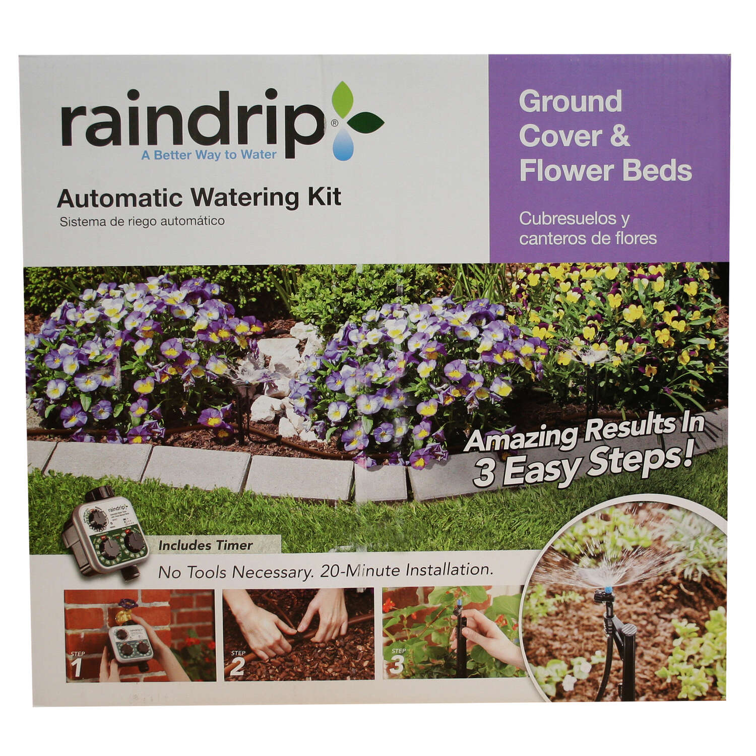 Raindrip  Drip Irrigation Garden Kit