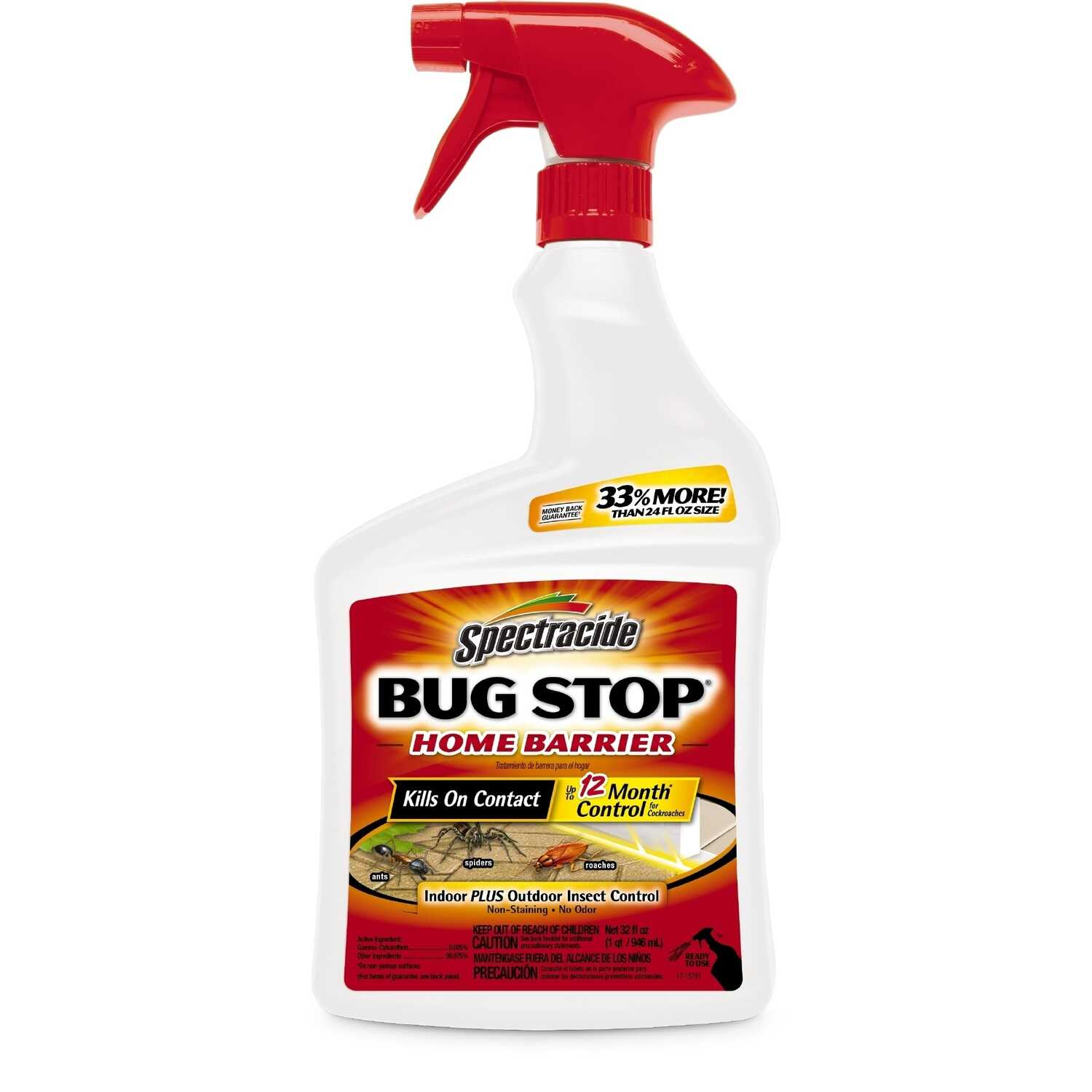 Spectracide  Bug Stop Home Barrier  Insect Killer  32 oz.