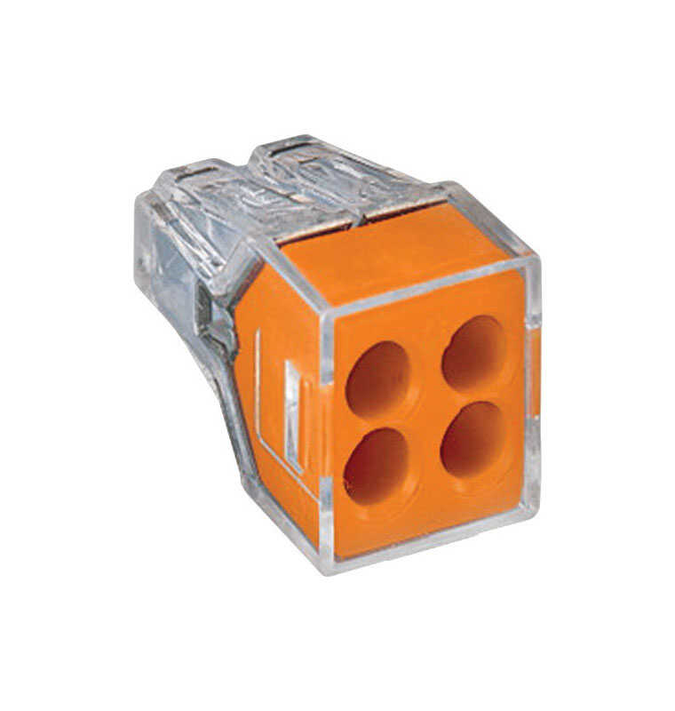 Wago  Wire Connector  100 pk Insulated