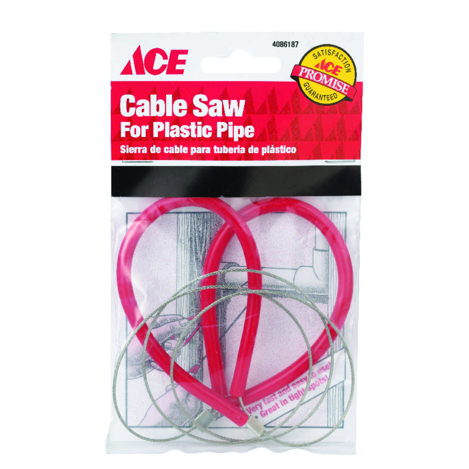 Ace  Cable Saw for Plastic Pipe