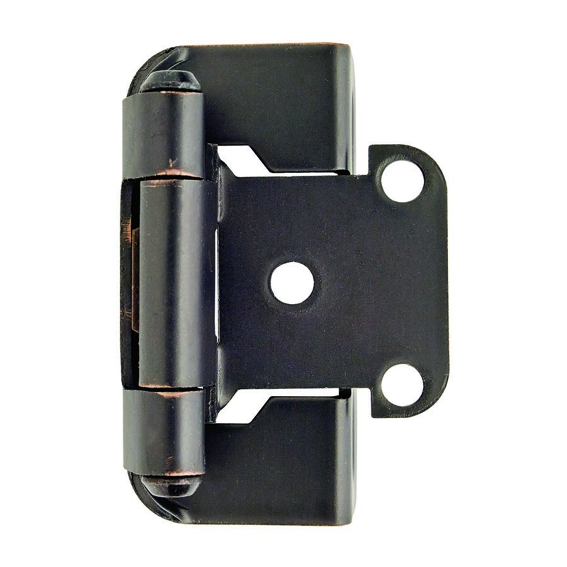 Amerock  2-1/4 in. L Oil Rubbed Bronze  Steel  Hinge  1 pk