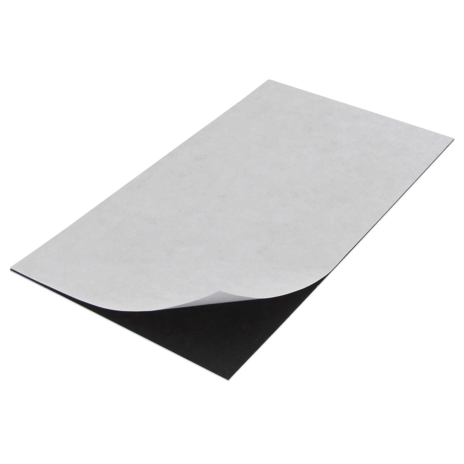 Master Magnetics  8 in. Ferrite Powder/Rubber Polymer Resin  Sheet  Magnetic Sheet  0.6 MGOe Black