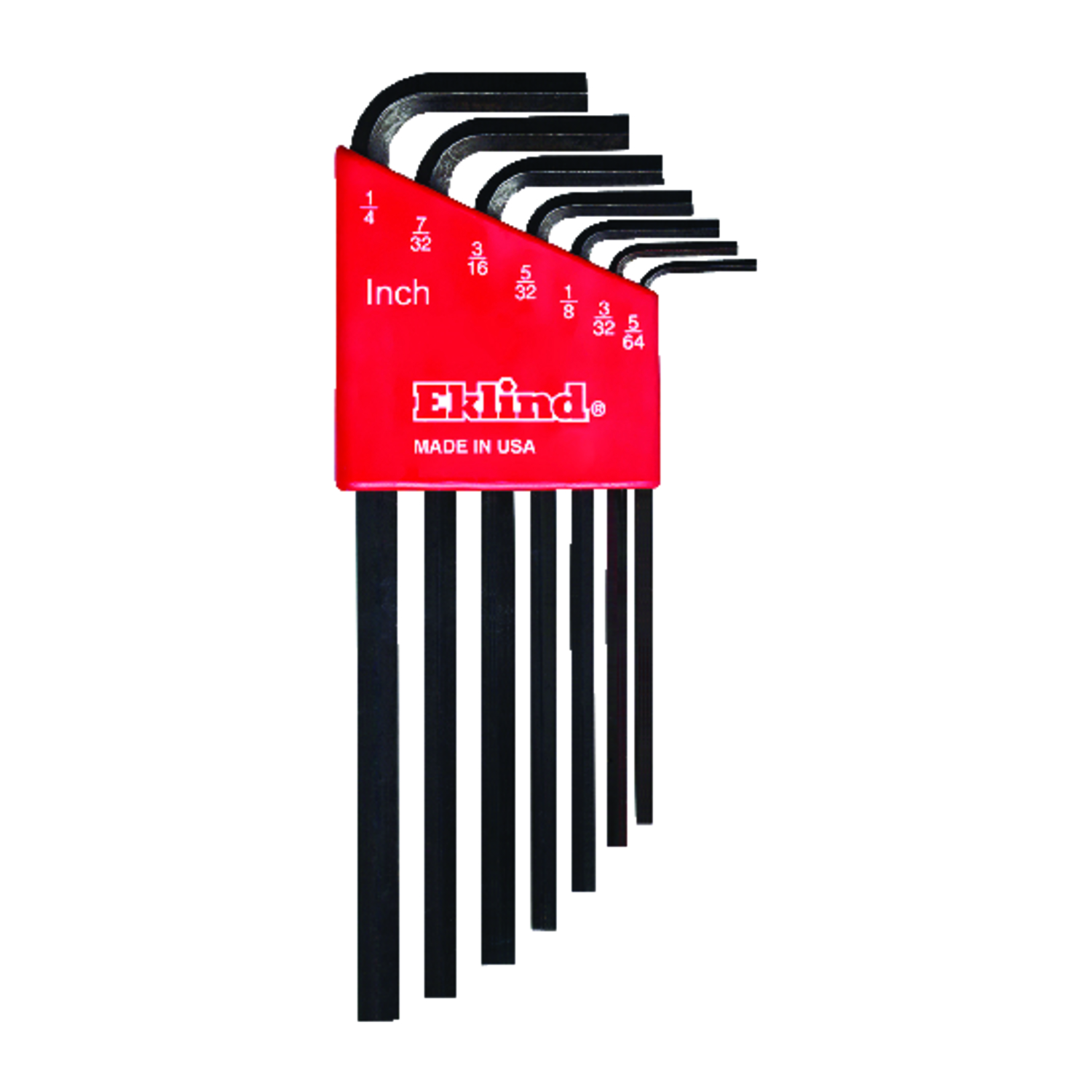 Eklind Tool  5/64 to 1/4  SAE  Long Arm  Hex Key Set  7 pc. Multi-Size in.
