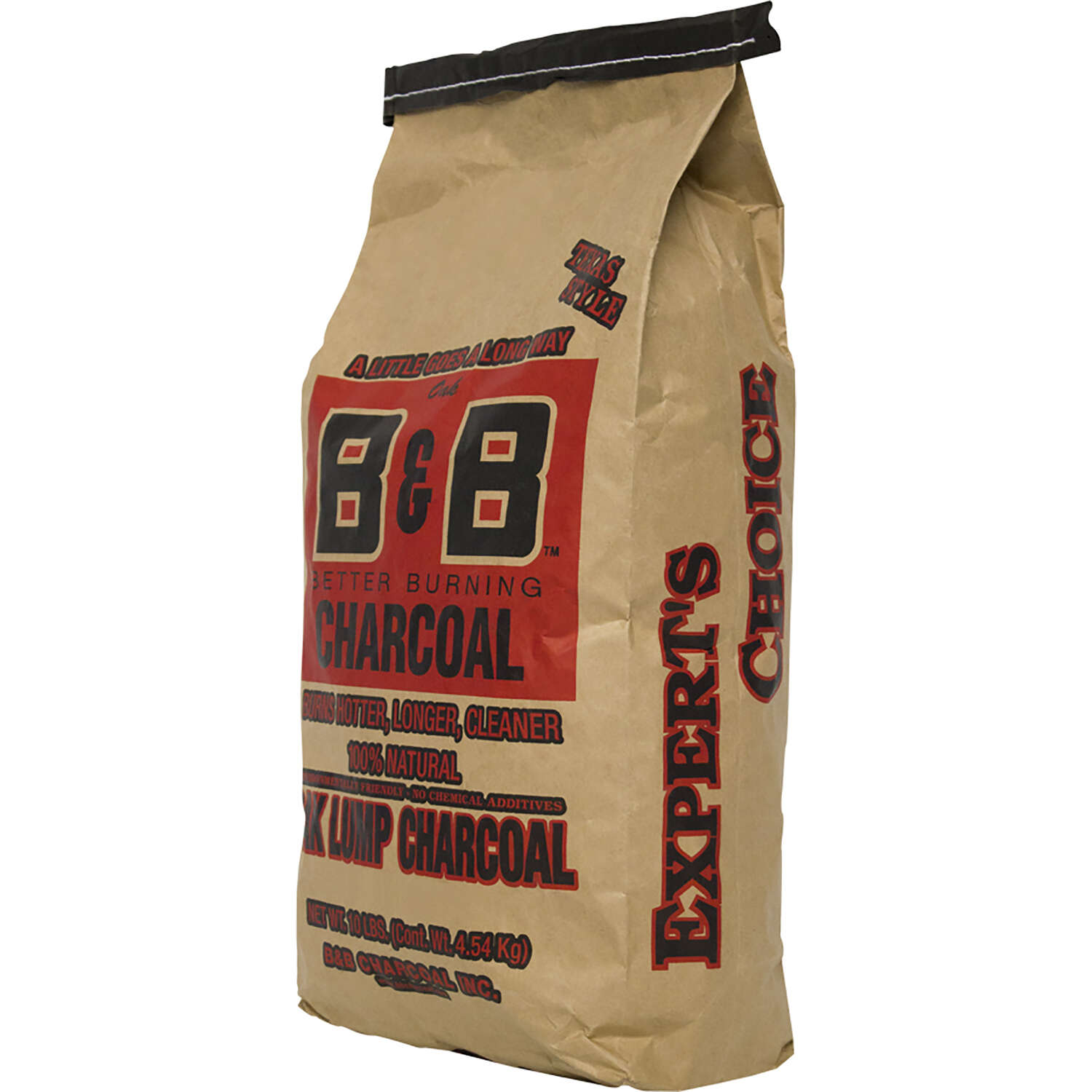 B&B Charcoal  All Natural Oak Hardwood  Lump Charcoal  10 lb.