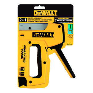 DeWalt  Heavy Duty  Stapler and Tacker  Yellow