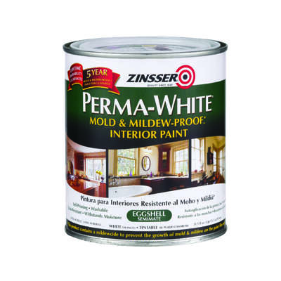 Zinsser Perma White Eggshell White Mold And Mildew Proof