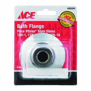 Ace  Chrome  Bath Flange Set  5/16 in.