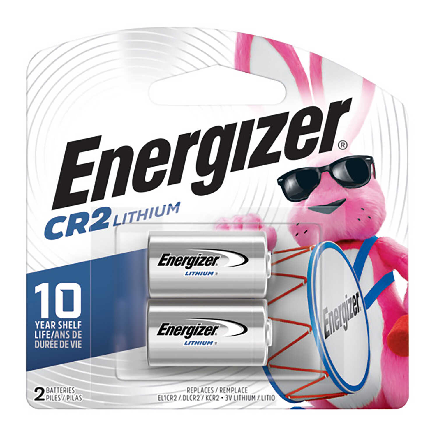 Energizer  Lithium  CR2  3 volt Camera Battery  2 pk