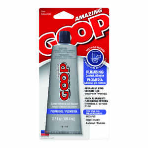 Amazing Goop  Clear  Adhesive and Sealant  For PVC 3.7 oz.