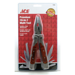 Ace  18-in-1  Multi-Tool  Brown  1 pc.