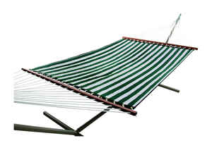 Castaway  55 in. W x 157 in. L White  Quilted Hammock
