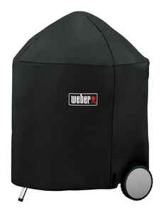 Weber  Black  Grill Cover  For 26 inch Weber charcoal grills 31.5 in. W x 39 in. H