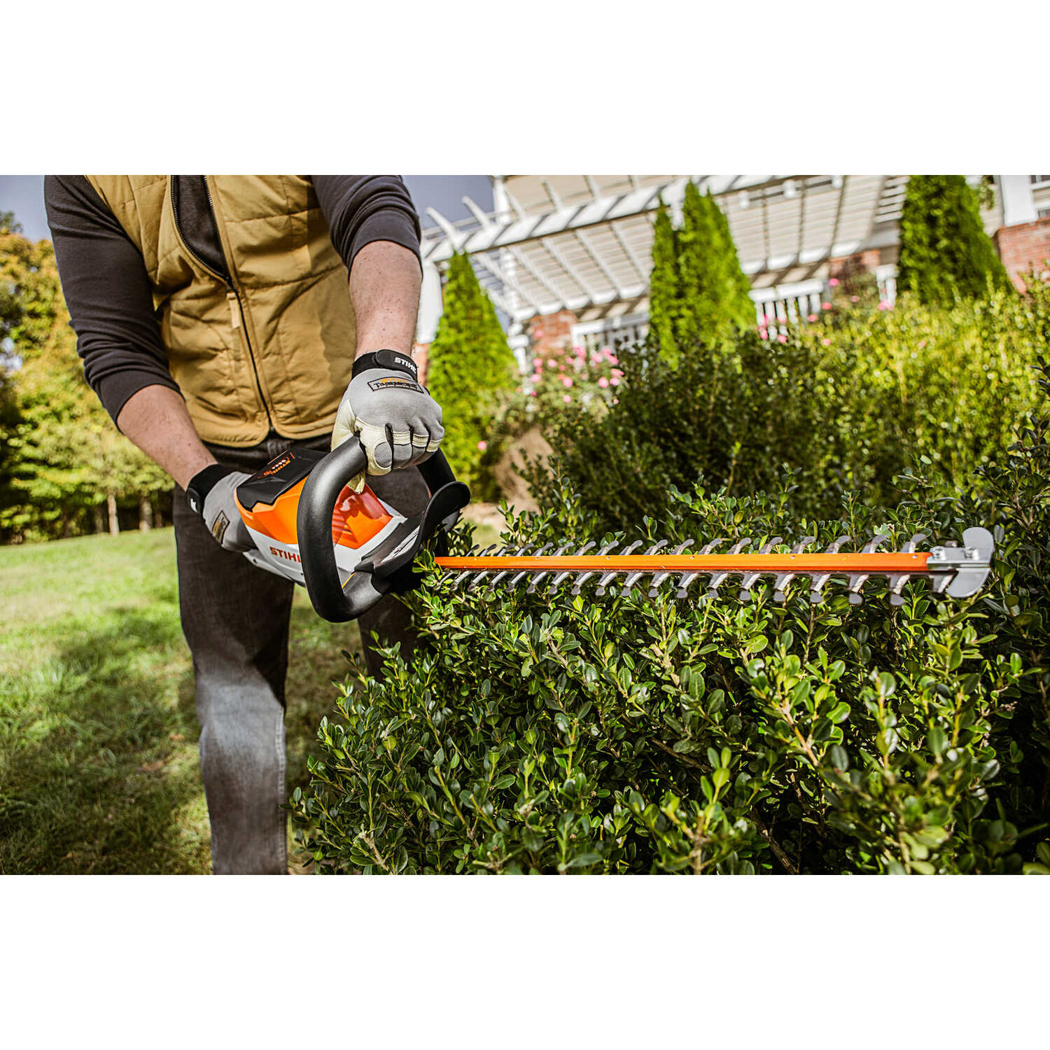 STIHL 18 in  Battery Hedge Trimmer Set HSA 56 - Ace Hardware