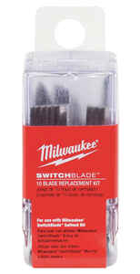 Milwaukee  SWITCHBLADE  Hardened Steel  Wood Chiseling  Replacement Switchblade  2 in. L 10 pc.