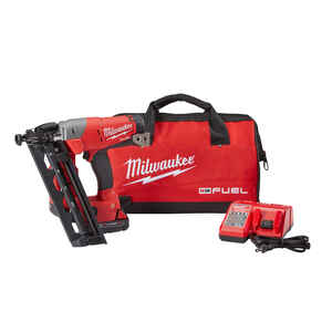 Milwaukee  M18 FUEL  16 Ga. Angled Finish Nailer  18 volt Kit
