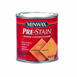 Minwax  Water-Based  Pre-Stain Wood Conditioner  1/2 pt.