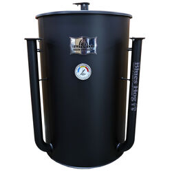 Blues Hog Gateway Charcoal/Wood Drum Smoker Black