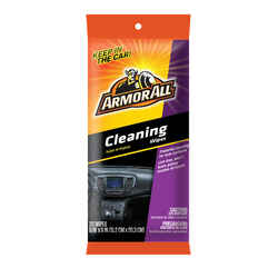 Armor All  Leather/Rubber/Vinyl  Cleaner/Conditioner  Bagged  20 count